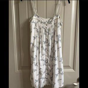 Abercrombie & Fitch button mini dress